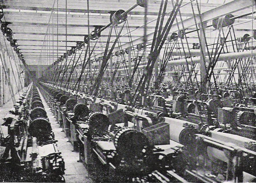 Lancashire cotton mill c1900