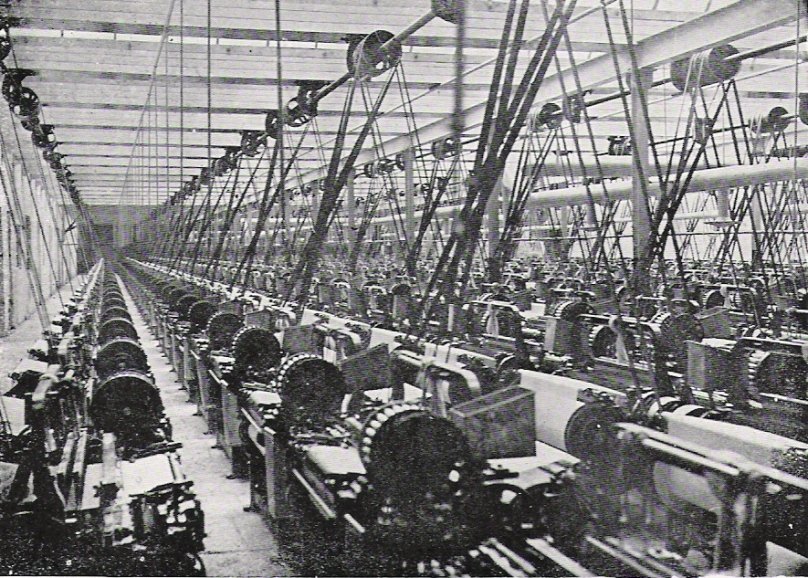 Lancashire cotton mill c1900