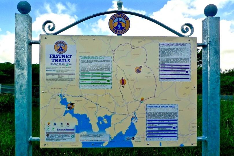 At Kilcoe Trailhead - the walks unveiled!