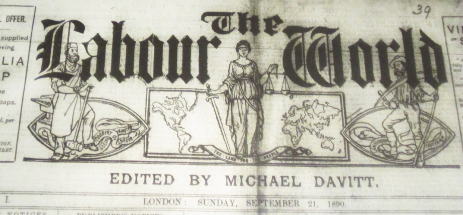 One of Michael Davitt's campaigning newspapers