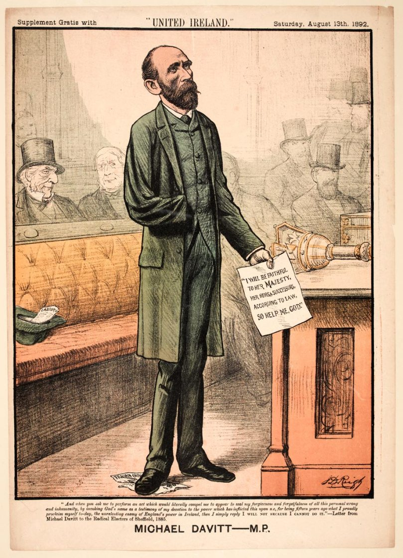 The One-Armed Michael Davitt