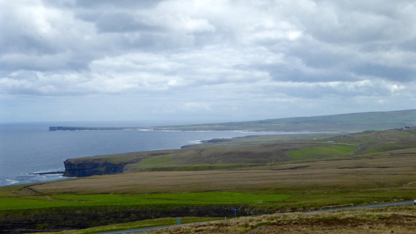 Looking towards Downpatrick Head from the Visitor Centre