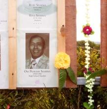 Saroj's father, Om Prakash Sharma