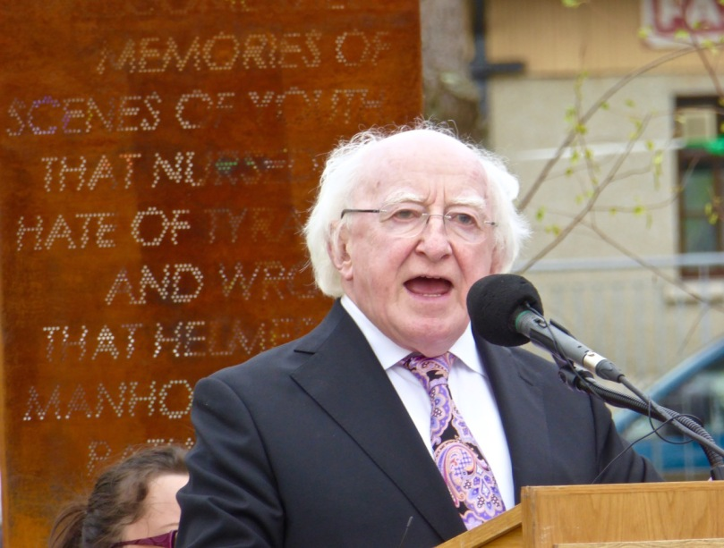 President Higgins speaks out with passion about freedom fighter Jeremiah O'Donovan Rossa
