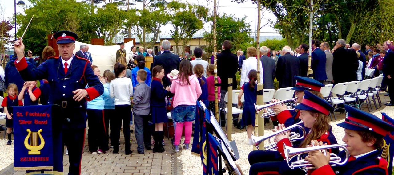 'Presidential Salute' in the O'Donovan Rossa Memorial Park