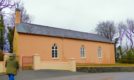 Barn-style church in West Cork