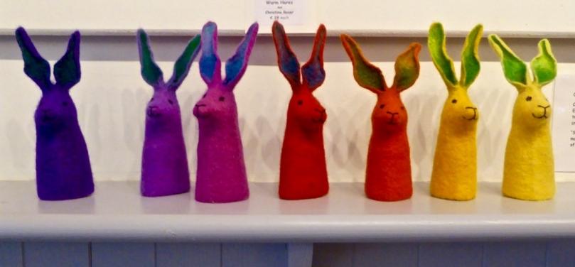 felt hares