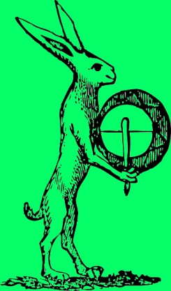 green Hare