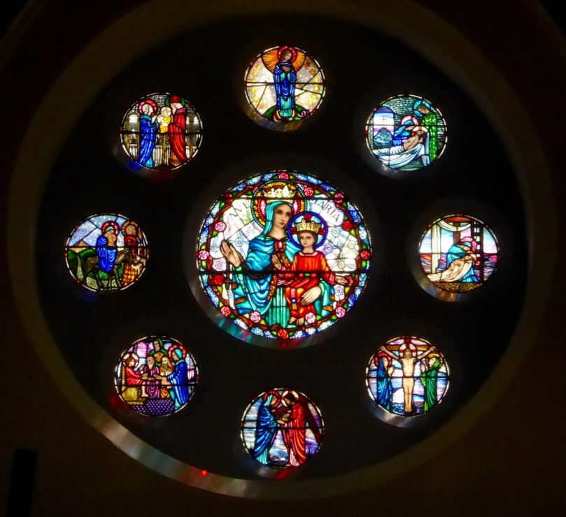 The Rose Window, by the Harry Clarke Studio