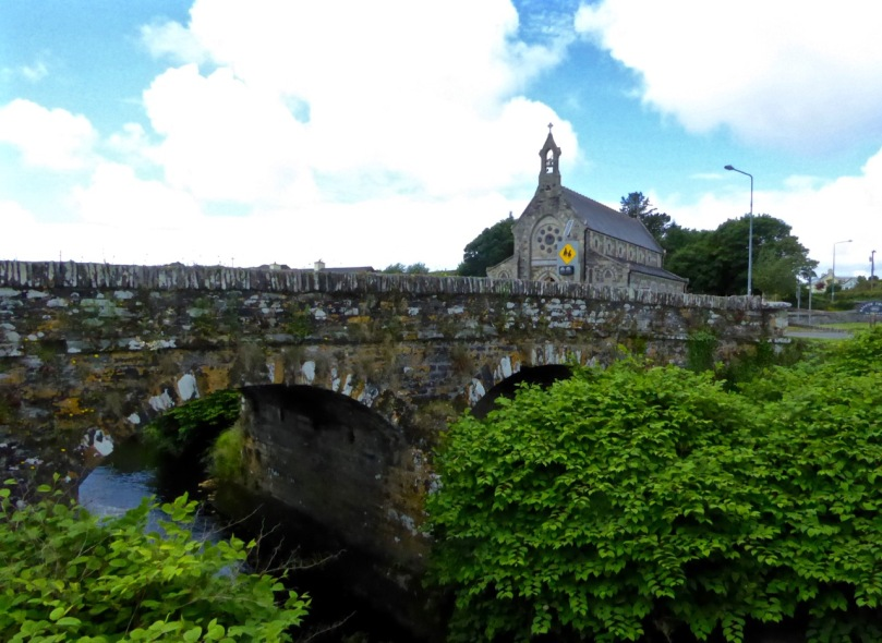 Kilcoe Church and Bridge