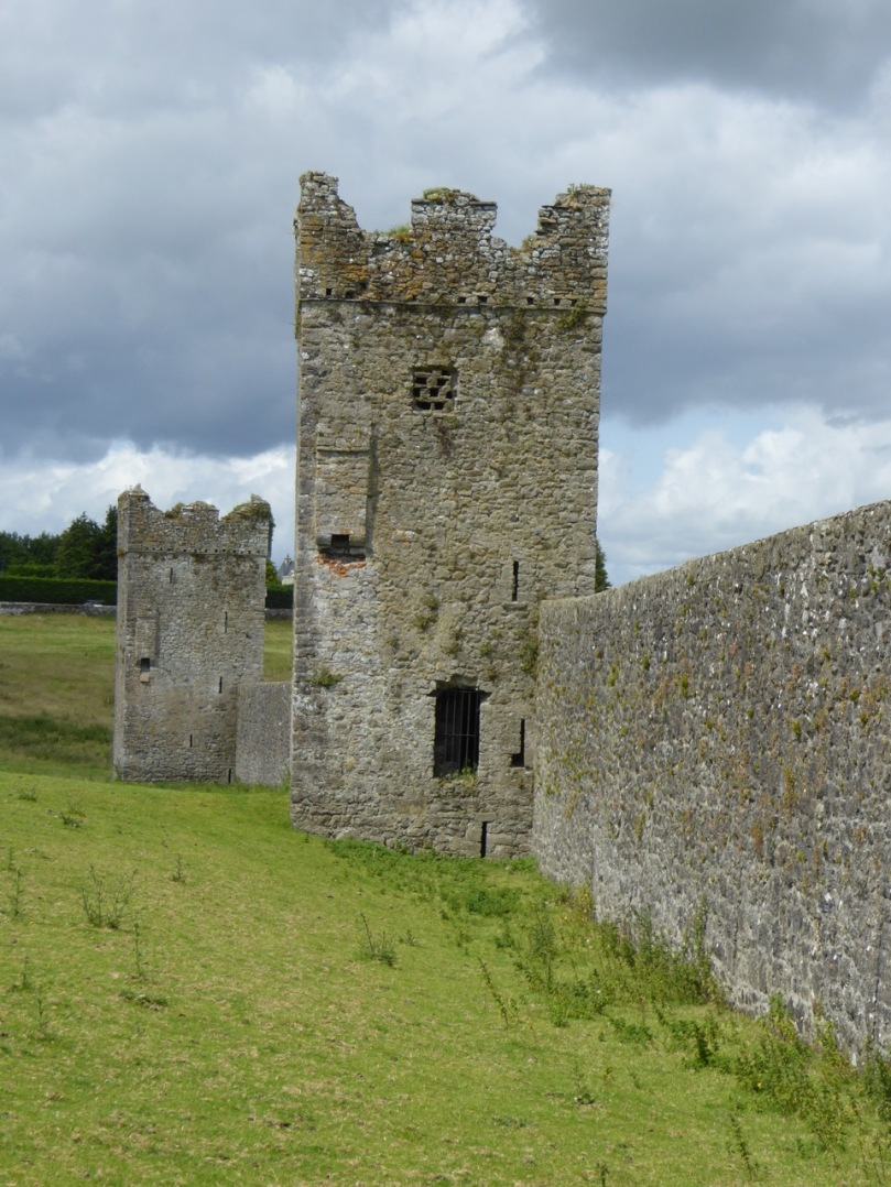 Each one of the 7 towers at Kells Priory is as large as one of our West Cork Castles