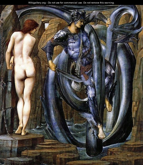 Burne Jones' The Doom Fulfilled