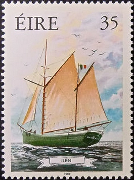 Ilen postage stamp