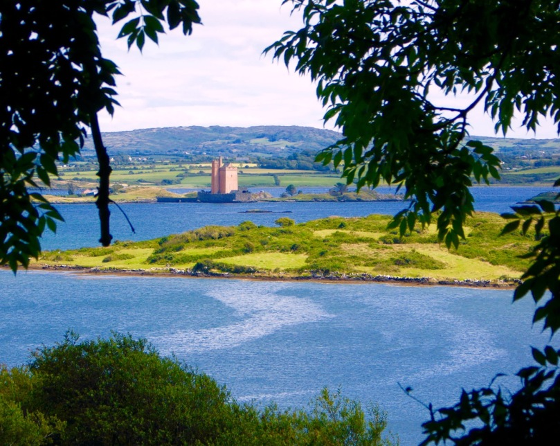 Kilcoe Castle from Greenmount