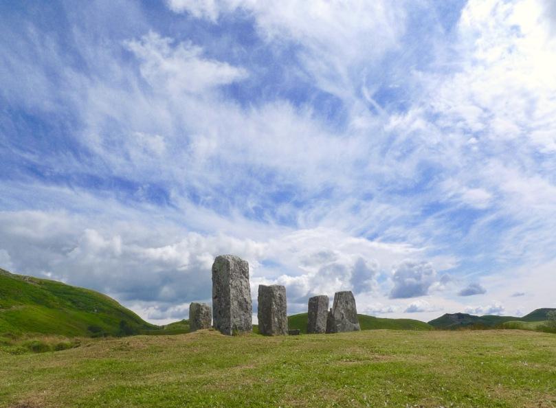 Maughanasilly Stone row  - a lunar observatory?