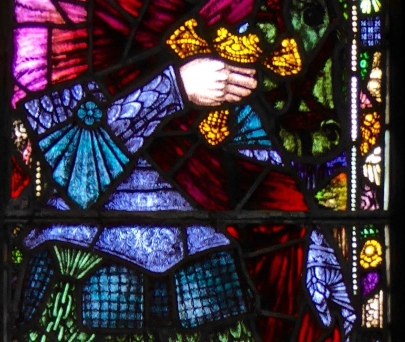 Saint Martin, armour detail