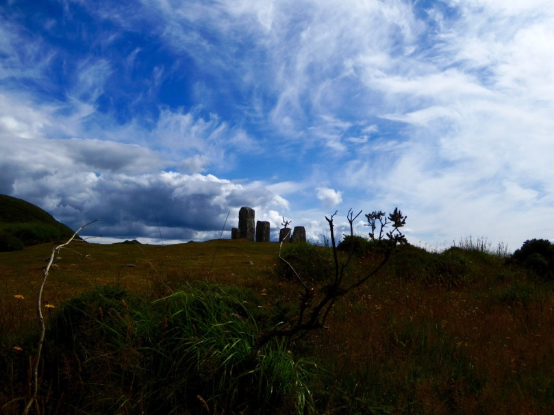 Dramatic Skies over Maughanasilly Stone Row