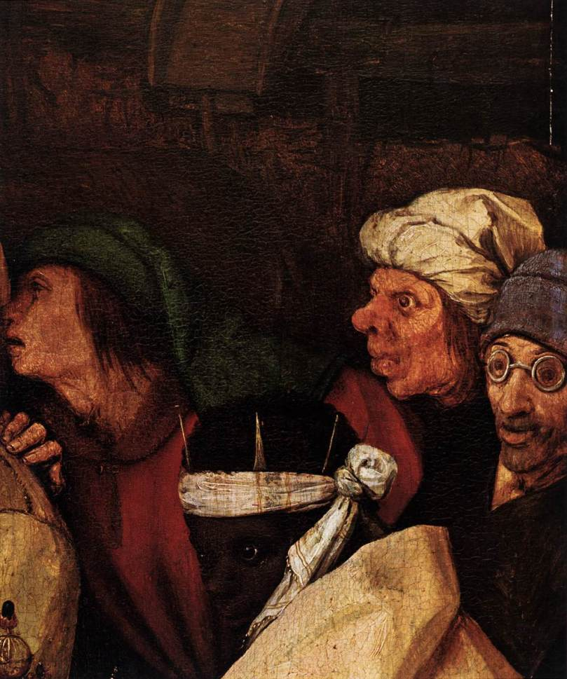 Detail from Pieter Bruegel's Adoration of the Kings