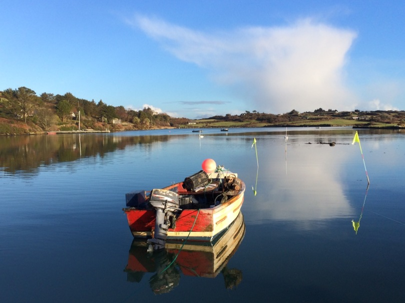 Start this walk at the Rossbrin boat slip