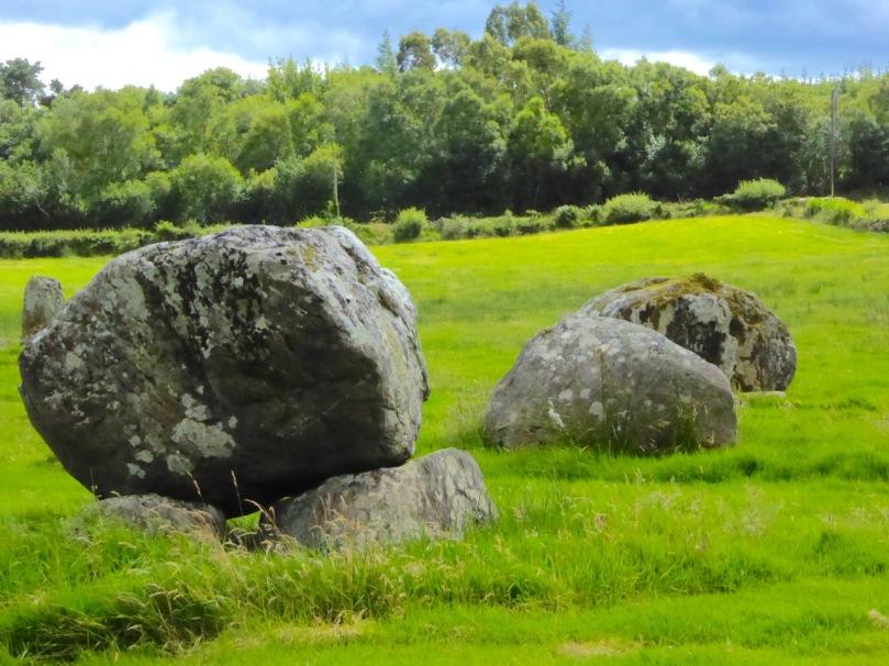 Three boulder burials at Mill Little