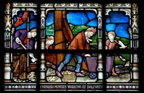 Cornish Miners Window