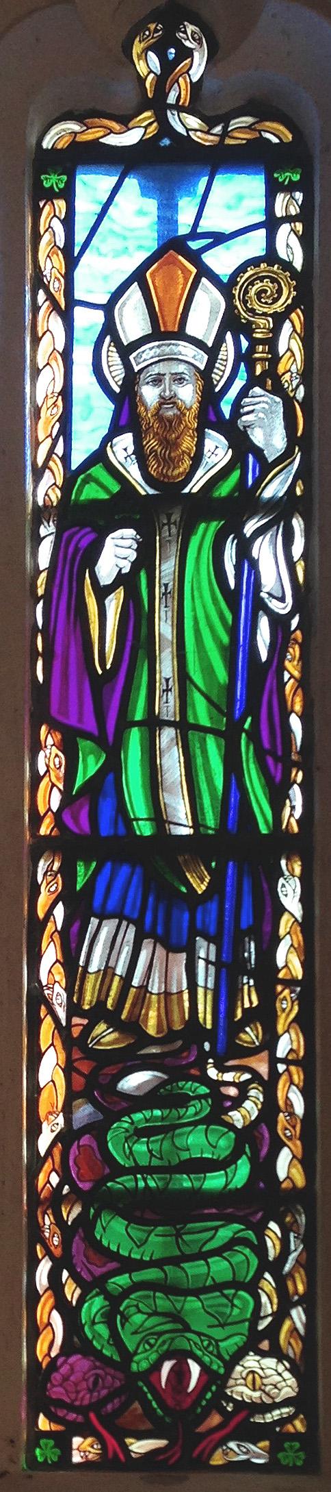 St P window Glastonbury