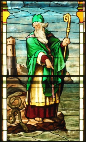 St Patrick - window