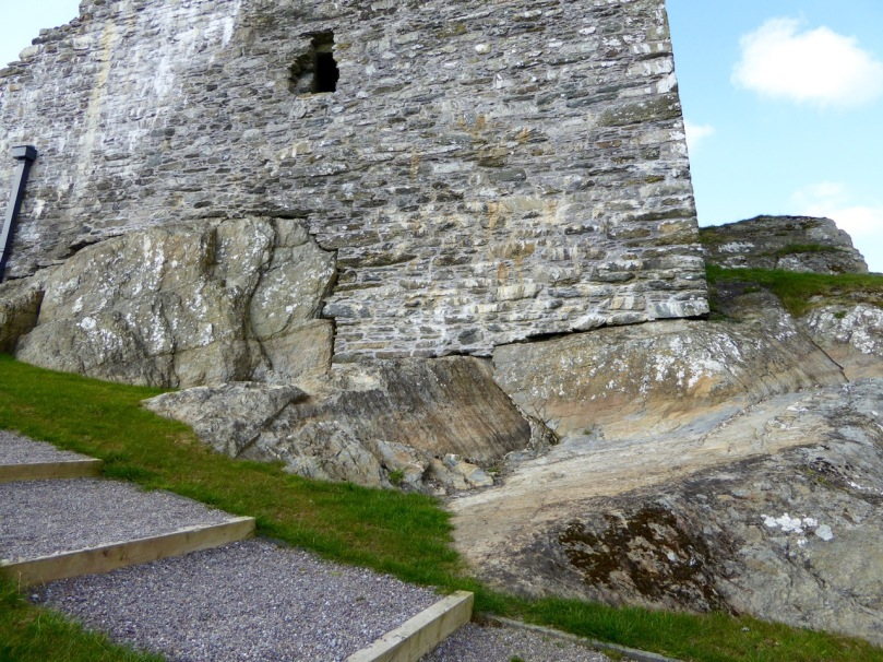 Like many West Cork Castles, Castle Donovan is built on a rock outcrop