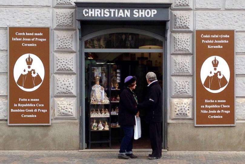 Christian Shop close