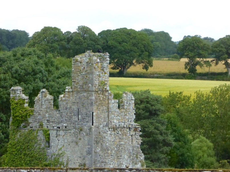 A good example of Irish crenellations from Kells Priory in Kilkenny