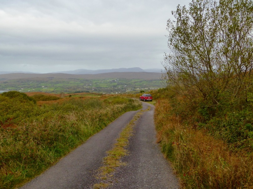 One of West Cork's most scenic parking spots