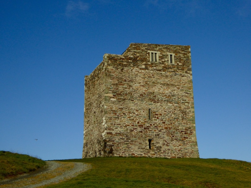 Rincolisky or White Hall Castle in West Cork - a good example of a basic tower house