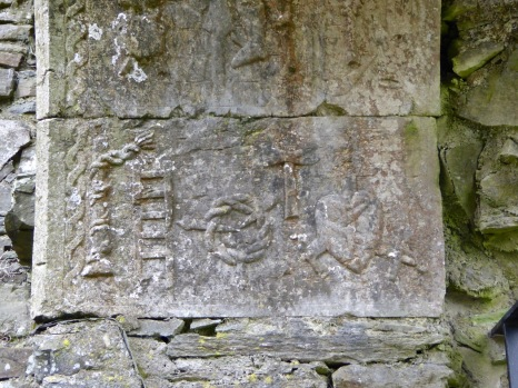 Ballinacarriga window carvings