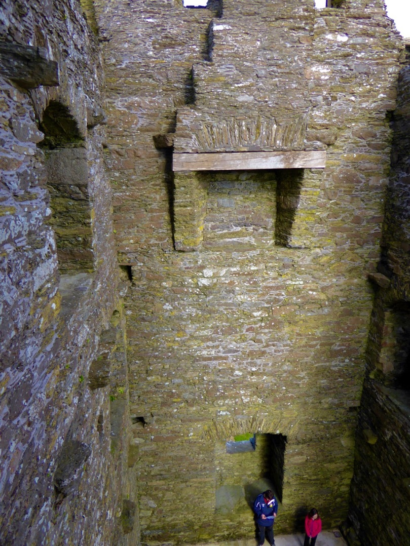 A fireplace from Castledonovan