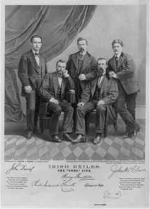 The Cuba Five were so named for the ship that brought them to America. Courtsey Library of Congress