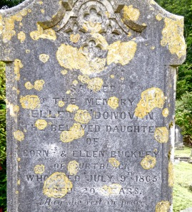 Ellen gravestone