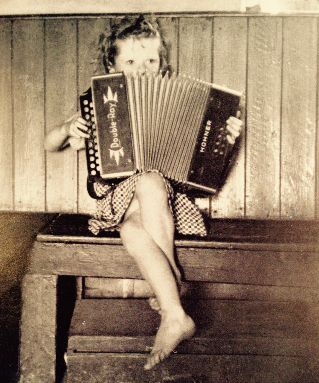Girl with Melodeon