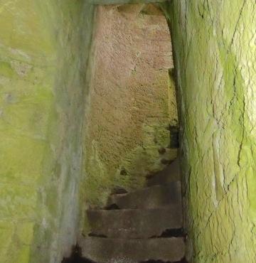 Kilcrea staircase construction