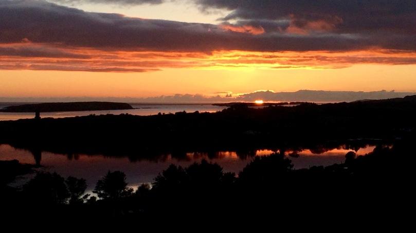 Mizen Sunset November