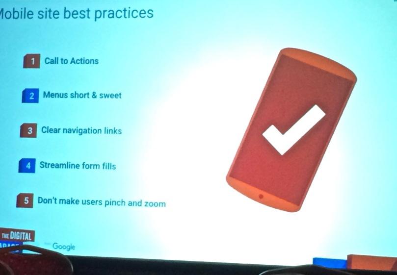 Mobile best practice