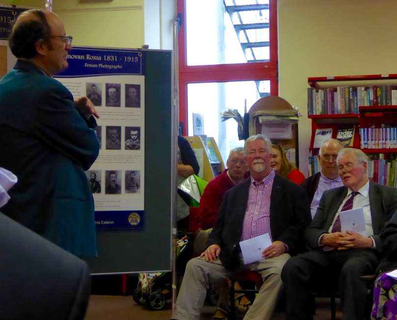 Another exhibition opening - this one at the Skibbereen Library