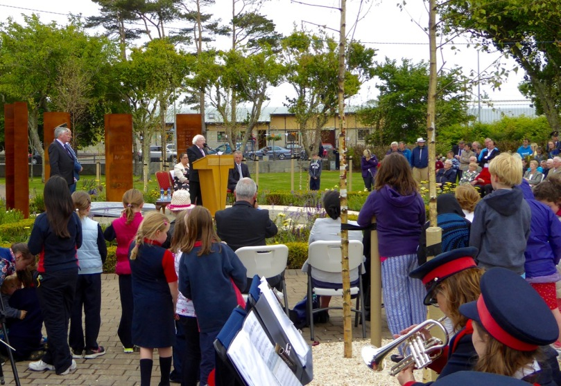 The President of Ireland, Michael D Higgins opened O'Donovan Rossa Park in Skibbereen