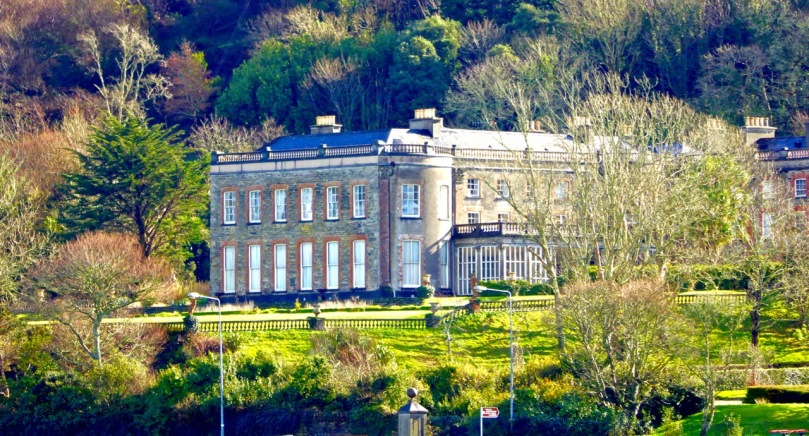 Bantry House in winter