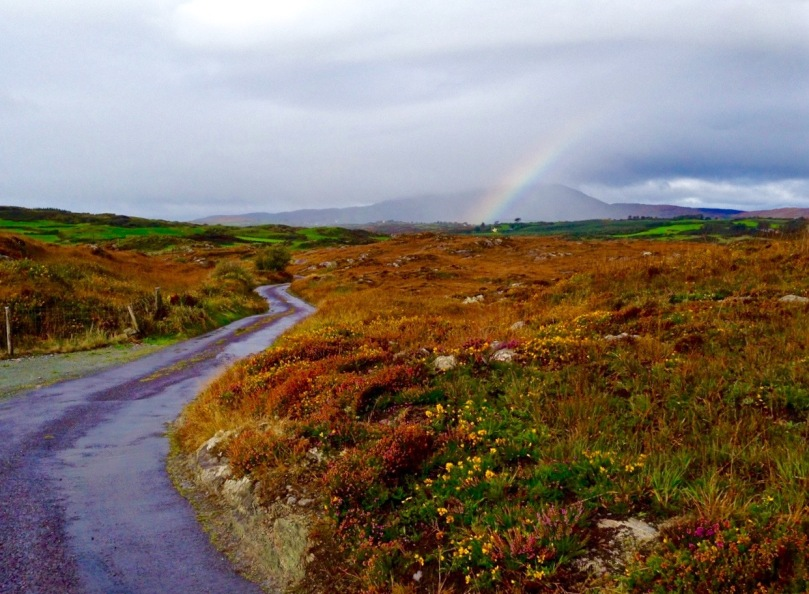 The Winding Road...the Cappaghglass high road in autumn