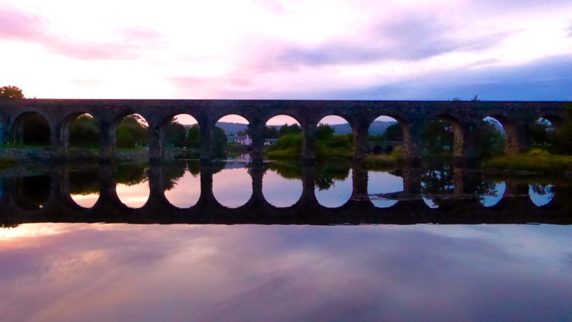 The famous 12 Arch Bridge at Ballydehob