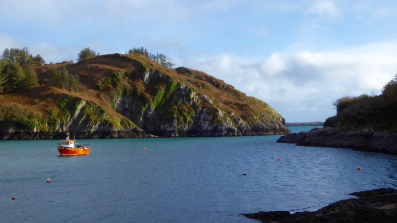 Barloge Bay, at the entrance to Lough Hyne