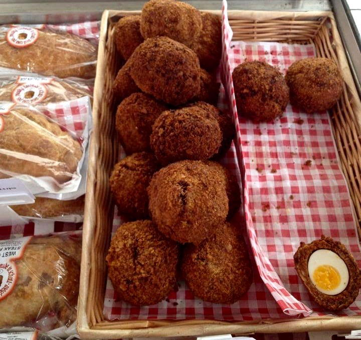 West Cork Pies' Black Pudding 'Brunch' Scotch Eggs, at the Skibbereen Market