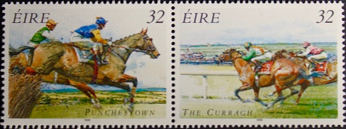 Racing stamps