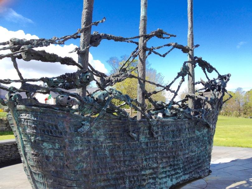 Famine Memorial at Murrisk