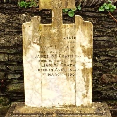 McGrath grave closer